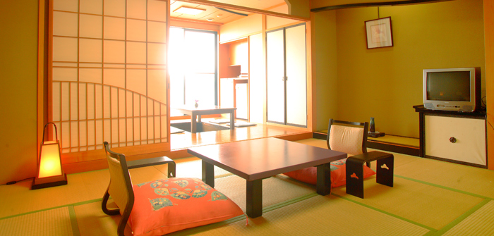 展望桧風呂・堀ごたつ付客室10+4.5畳